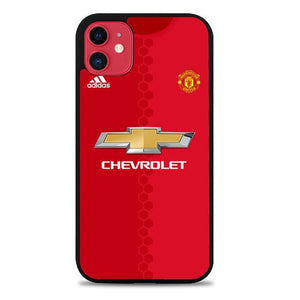Custodia Cover iphone 11 pro max manchester united jersey Z4791 Case