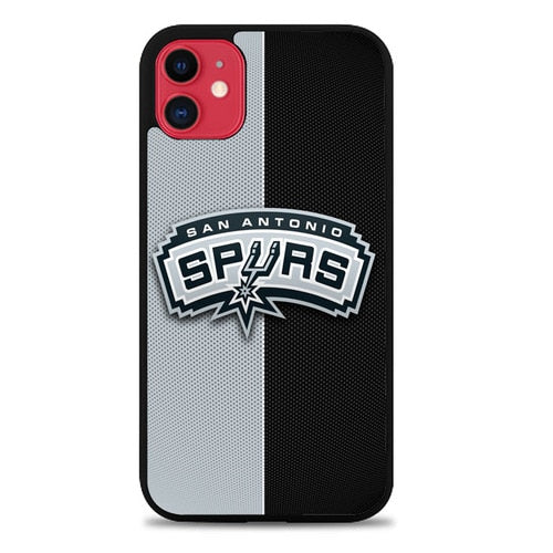 Custodia Cover iphone 11 pro max san antonio spurs Z4805 Case