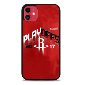 Custodia Cover iphone 11 pro max houston rockets playoff 2017 Z4816 Case