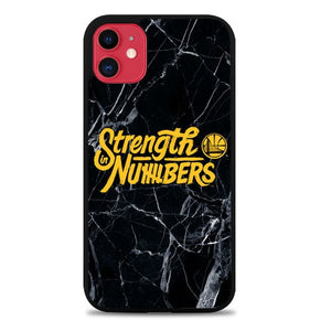 Custodia Cover iphone 11 pro max Strength In Numbers golden state warrior Z4827 Case