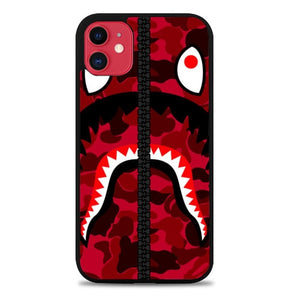 Custodia Cover iphone 11 pro max bape red Z4848 Case - custodia cover samsung/iphone/huawei taichitaoista.it