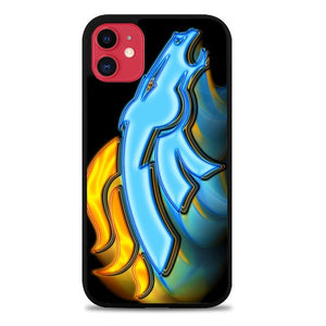 Custodia Cover iphone 11 pro max denver broncos logo glow Z4890 Case - custodia cover samsung/iphone/huawei taichitaoista.it