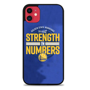 Custodia Cover iphone 11 pro max Golden State Warriors NBA Playoof Strength Z4907 Case