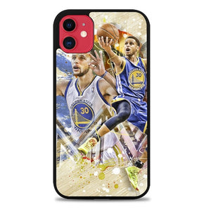 Custodia Cover iphone 11 pro max stephen curry golden state warriors MVP Z4922 Case
