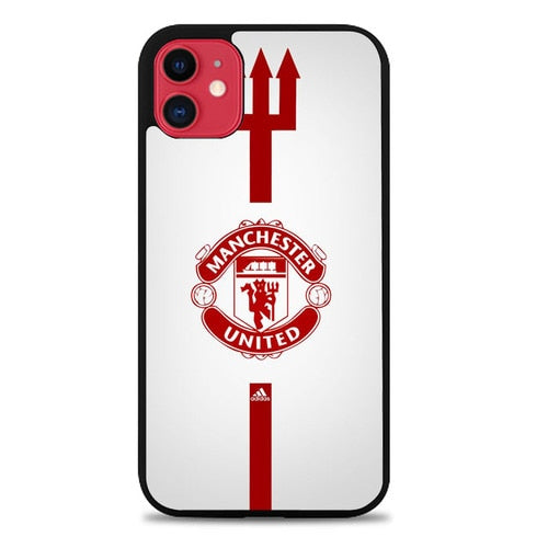 Custodia Cover iphone 11 pro max manchester united logo Z5031 Case