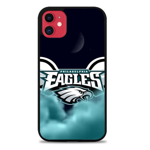 Custodia Cover iphone 11 pro max NFL Philadelphia Eagles Logo Z5124 Case - custodia cover samsung/iphone/huawei taichitaoista.it