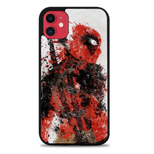 Custodia Cover iphone 11 pro max deadpool Art Z5131 Case