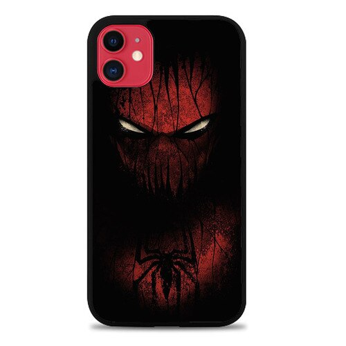 Custodia Cover iphone 11 pro max Spiderman Face Z5133 Case