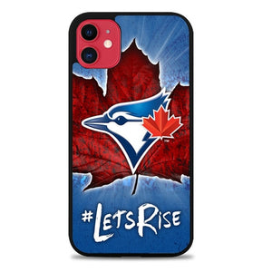 Custodia Cover iphone 11 pro max toronto blue jays logo Lets Rise Z5199 Case