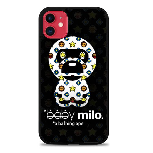 Custodia Cover iphone 11 pro max baby milo a bathing ape Z5224 Case