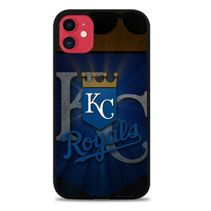 Custodia Cover iphone 11 pro max Kansas City Royals Baseball Logo Z5240 Case