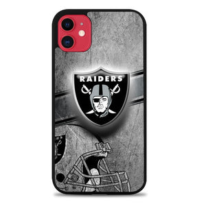 Custodia Cover iphone 11 pro max oakland raiders logo Z5273 Case