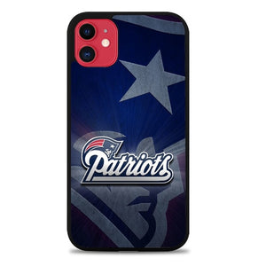 Custodia Cover iphone 11 pro max New England Patriots Logo Z5307 Case