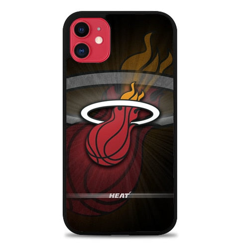 Custodia Cover iphone 11 pro max miami heat Z5343 Case