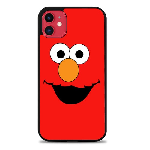 Custodia Cover iphone 11 pro max Elmo Sesame Street Z5412 Case