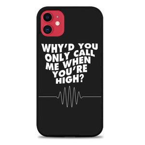 Custodia Cover iphone 11 pro max arctic monkey only call me Z5686 Case