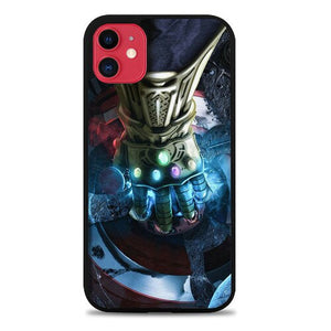 Custodia Cover iphone 11 pro max Infinity War Avenger Poster Z7065 Case