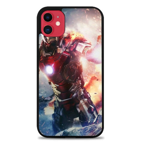 Custodia Cover iphone 11 pro max Iron Man Infinity War Z7066 Case