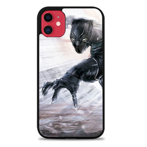 Custodia Cover iphone 11 pro max Black Panther Z7073 Case