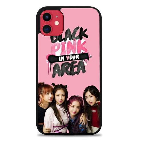 Custodia Cover iphone 11 pro max blackpink in your area Z7114 Case