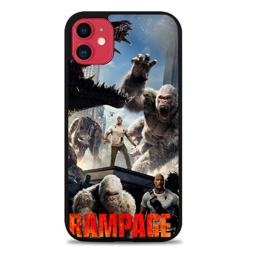 Custodia Cover iphone 11 pro max rampage movie Z7128 Case