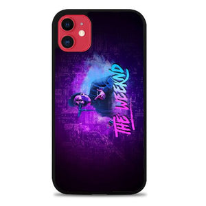 Custodia Cover iphone 11 pro max the weeknd art Z7161 Case