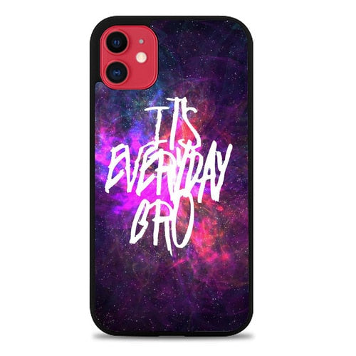 Custodia Cover iphone 11 pro max jake paul its everyday bro Z4463 Case