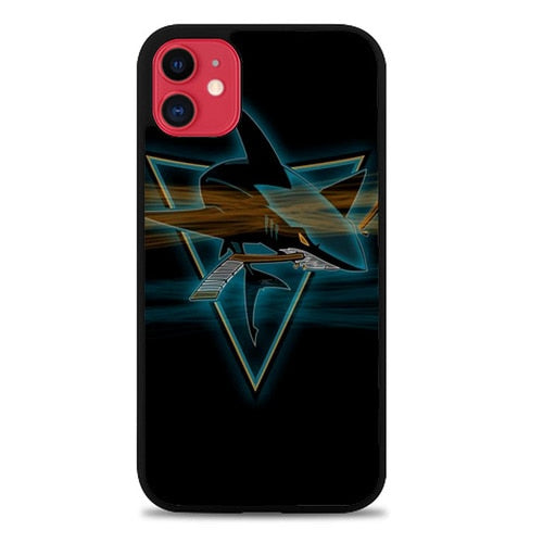 Custodia Cover iphone 11 pro max San Jose Sharks Z4589 Case