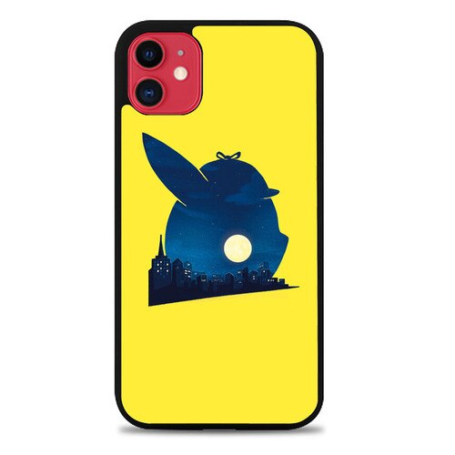 Custodia Cover iphone 11 pro max Pokemon Detective Pikachu Z4748 Case