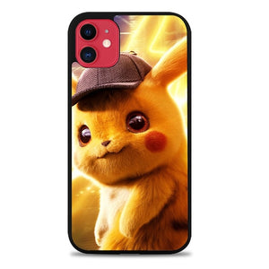 Custodia Cover iphone 11 pro max New Detective Pikachu Movie Z4750 Case