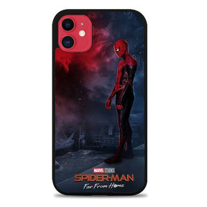 Custodia Cover iphone 11 pro max spider man far from home Z4814 Case