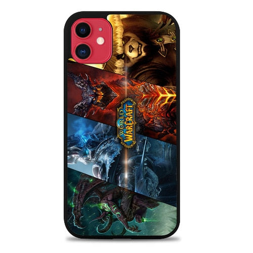 Custodia Cover iphone 11 pro max World Of Warcraft Z4850 Case