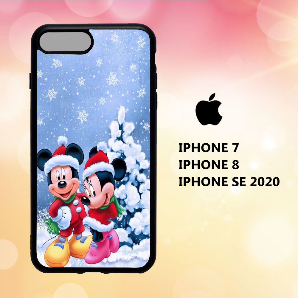 custodia cover iphone 5 6 7 8 plus x xs xr case L6782 noel disney wallpaper 161yE1