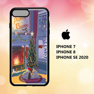 custodia cover iphone 5 6 7 8 plus x xs xr case M7049 noel disney wallpaper 161gY2