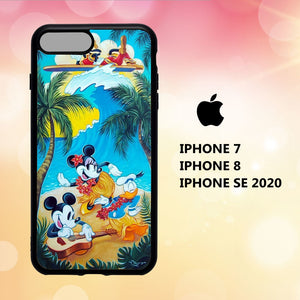 custodia cover iphone 5 6 7 8 plus x xs xr case W7962 noel disney wallpaper 161oG0