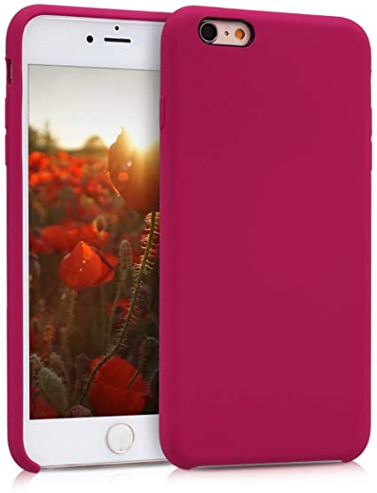 cover iphone 6 silicone rossa