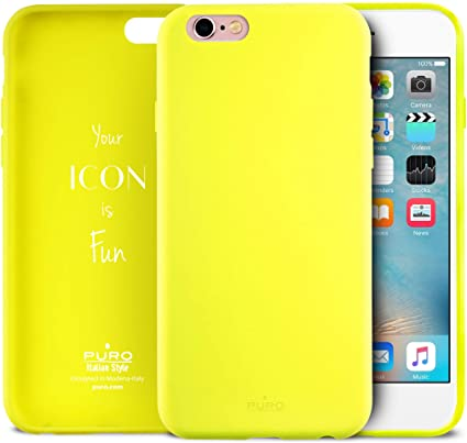 custodia iphone 6 giallo