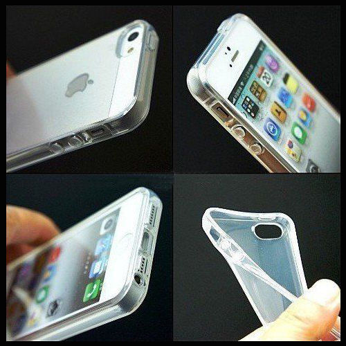 custodia trasparente iphone 5