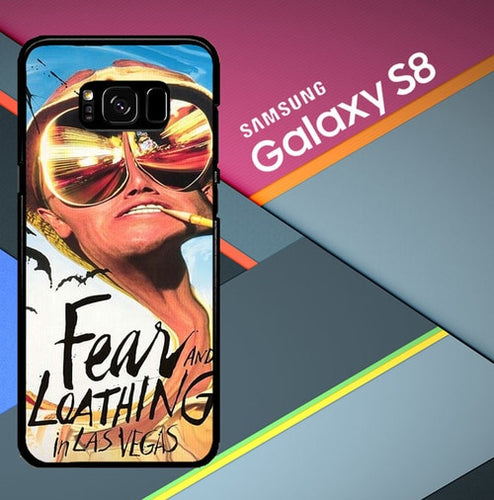 Custodia Cover samsung galaxy s8 s8 edge plus Fear and loathing in Las Vegas X1131 Case