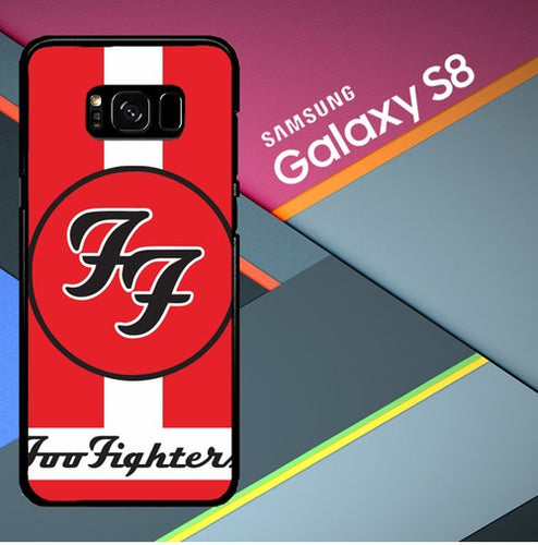 Custodia Cover samsung galaxy s8 s8 edge plus Foo Fighters Logo X2559 Case