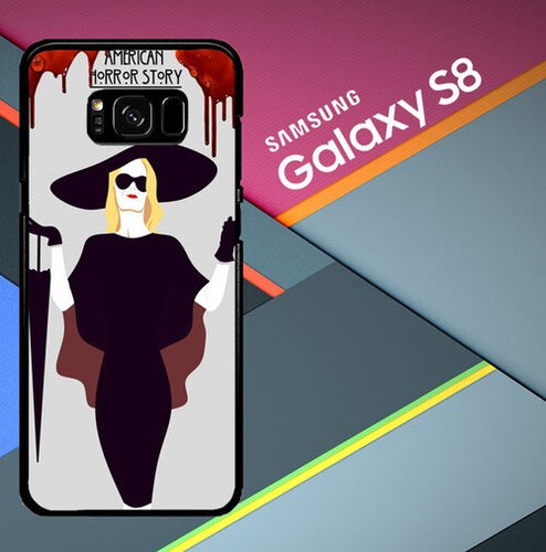 Custodia Cover samsung galaxy s8 s8 edge plus Fiona Goode American Horror Story X2923 Case