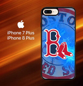Custodia Cover iphone 7 plus 8 plus Boston Red Sox X3317 Case