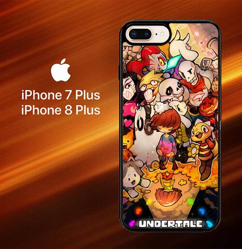 Custodia Cover iphone 7 plus 8 plus Undertale All Character X4165 Case