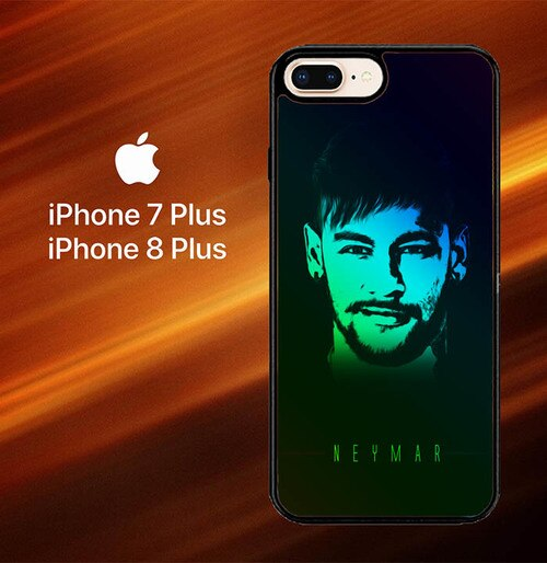 Custodia Cover iphone 7 plus 8 plus Neymar JR Art X6009 Case