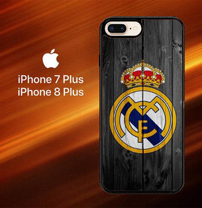 Custodia Cover iphone 7 plus 8 plus Real Madrid Logo X5960 Case