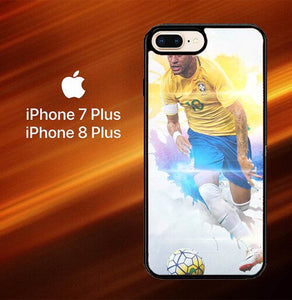 Custodia Cover iphone 7 plus 8 plus Neymar JR X7100 Case