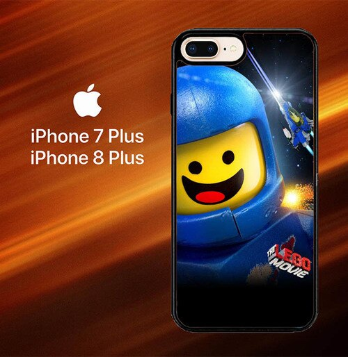 Custodia Cover iphone 7 plus 8 plus Benny The Lego Movie X8015 Case