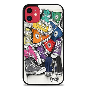 Custodia Cover iphone 11 pro max Converse X8909 Case