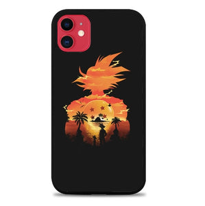 Custodia Cover iphone 11 pro max Dragon Ball Sunset X8907 Case
