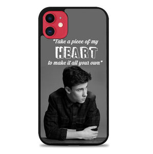 Custodia Cover iphone 11 pro max Shawn Mendes X8917 Case